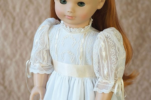 Doll Dress and Shoes