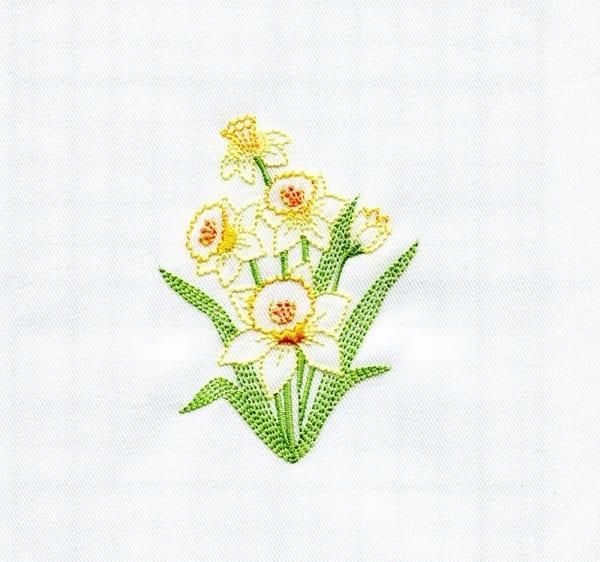 Easter Basket & Daffodils (March 2013 IEC Designs)