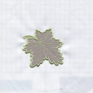 Applique Leaf & Larkspur (July 2013 IEC Designs)