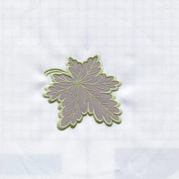 Applique Leaf & Larkspur (July 2013 IEC Designs)