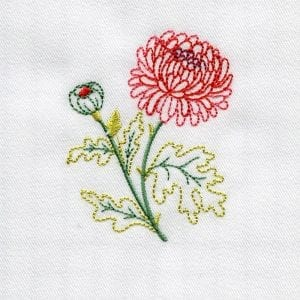 Christmas Elf, Chrysanthemum and Snowflake (November 2013 IEC Bonus Designs)