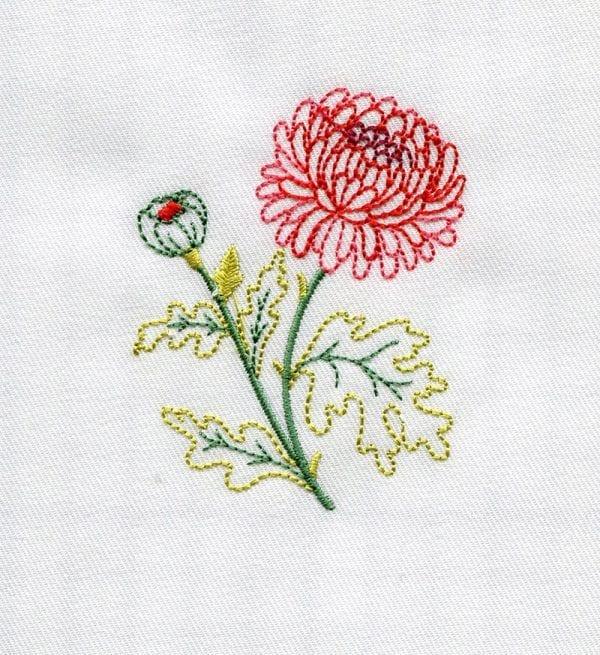 Christmas Elf, Chrysanthemum and Snowflake (November 2013 IEC Bonus Designs)