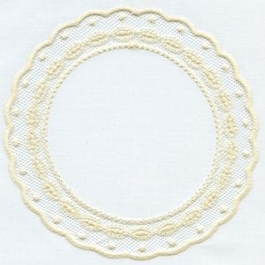 "2013 5x7"" Lace Shape Designs"