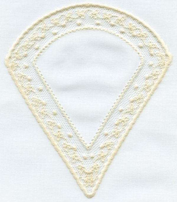 """2013 5x7"""" Lace Shape Designs"""