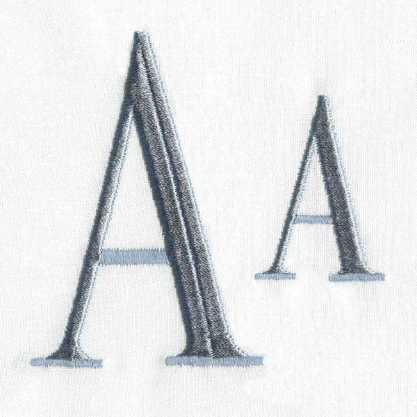 Serif Alphabet