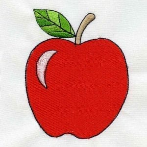 Back to School Embroidery