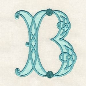Celtic Alphabet - Applique