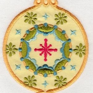 Applique Ornaments & FSL Snowflakes