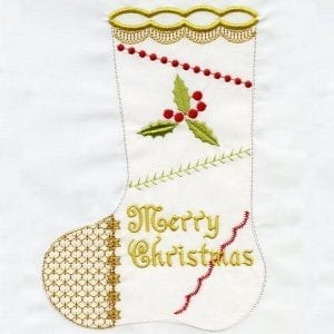 In-The-Hoop Stocking