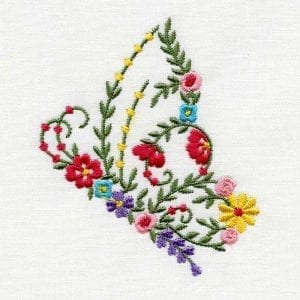 Liberty Floral Butterflies