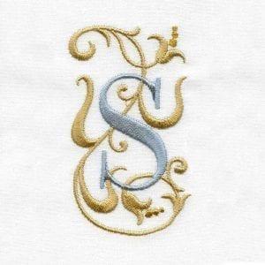 Victorian Scroll Alphabet