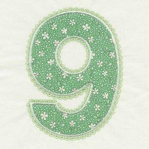 Chubby Numbers 5x7