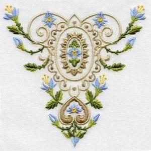Vintage Colored Designs