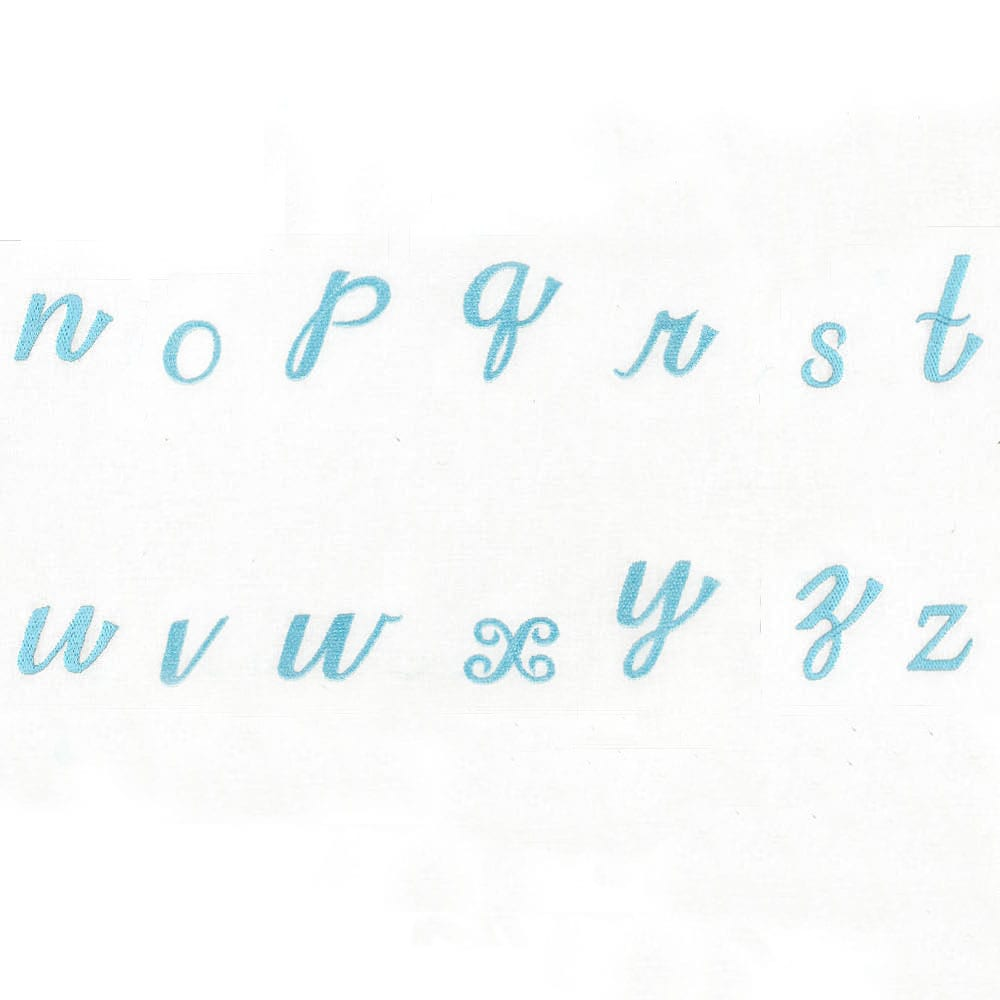 Sweetheart Alphabet Lowercase Version