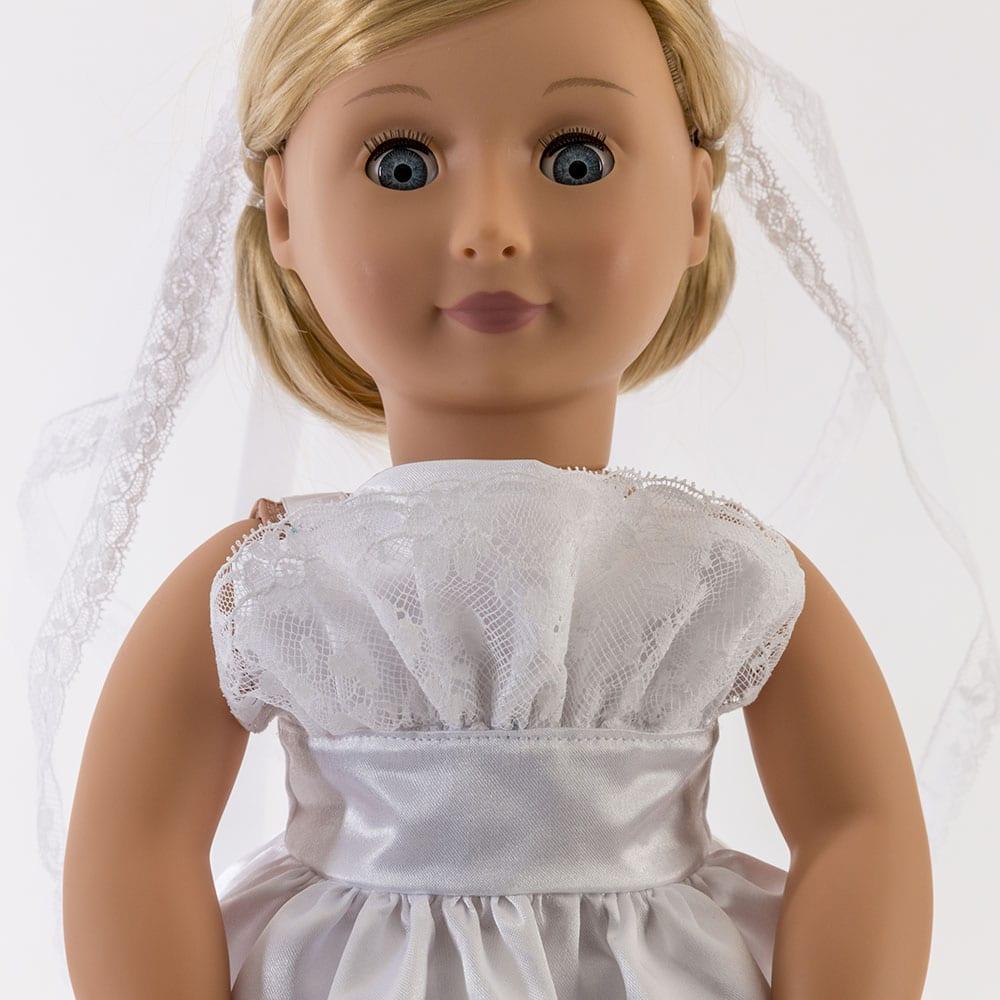 Mally Bridal Dress, Slip and Veil