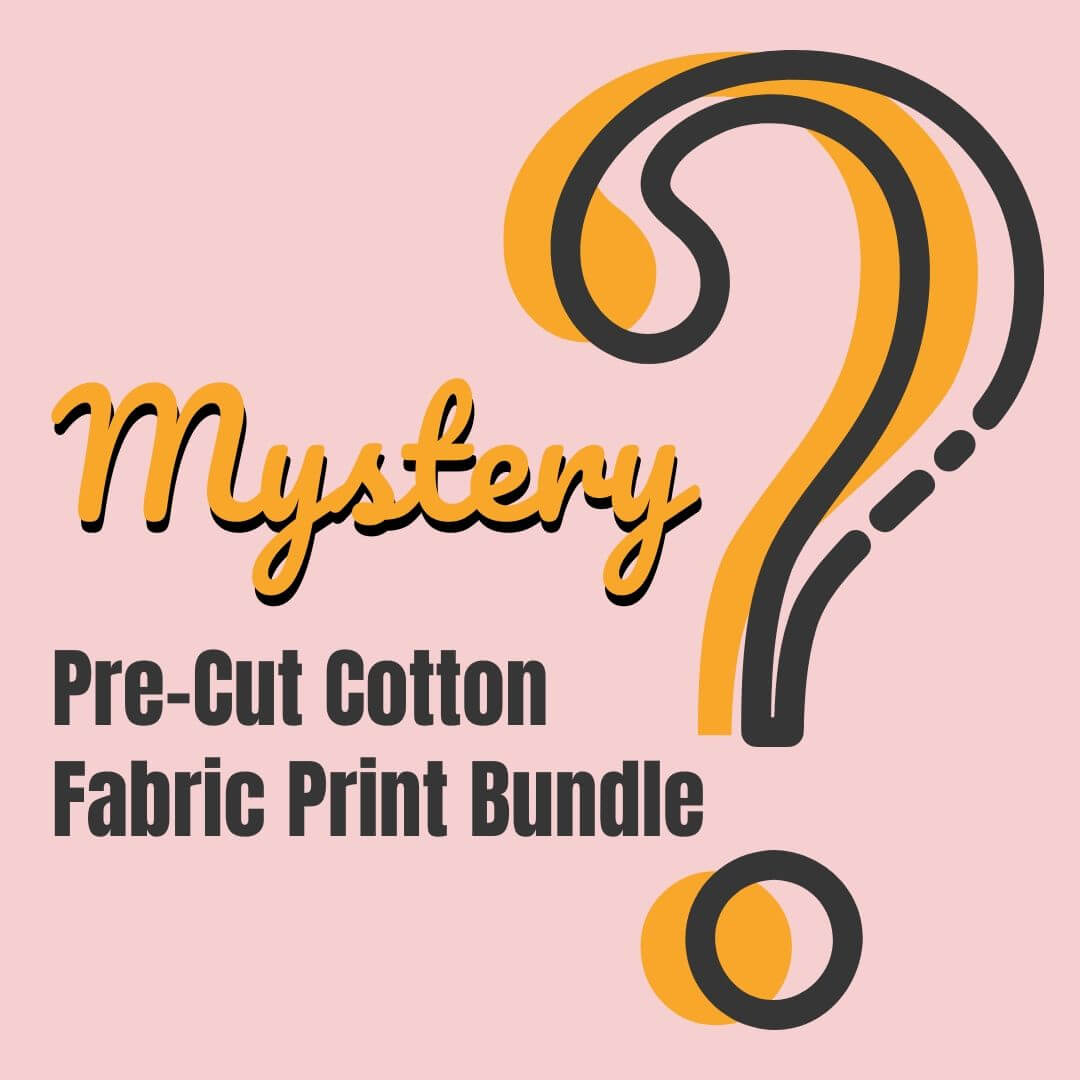 Mystery Cotton Fabric Print Bundle