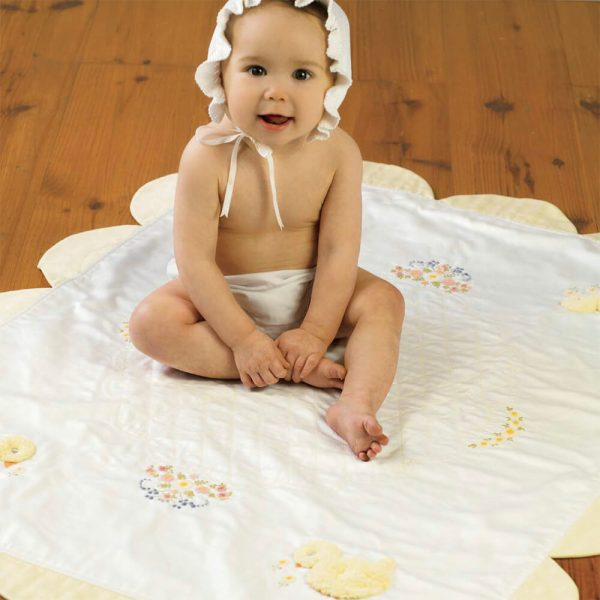 Baby Chick Coverlet - Digital Pattern