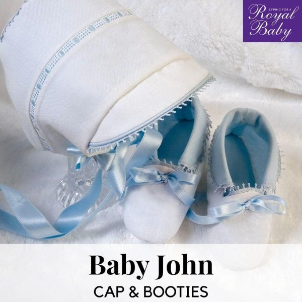 Baby John Cap & Booties - Digital Pattern