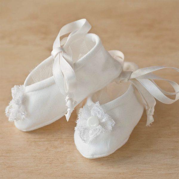 Duchess Baby Booties - Digital Pattern