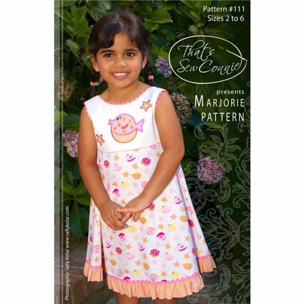 Marjorie Girls Dress - Digital Pattern
