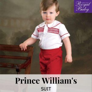 Prince William's Suit - Digital Pattern