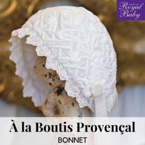 A la Boutis Provencal Bonnet - Digital Pattern