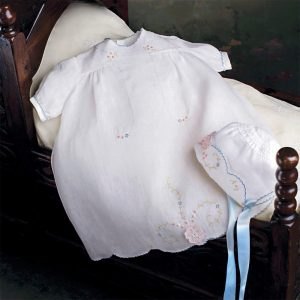 Princess Charlotte Baby Dress & Bonnet - Digital Pattern