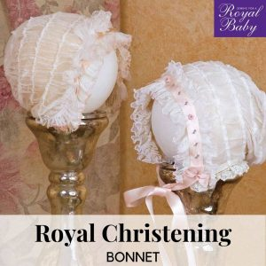 Royal Christening Bonnet - Digital Pattern