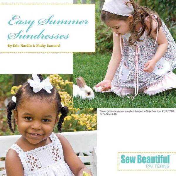 Easy Summer Sundress - Digital Pattern