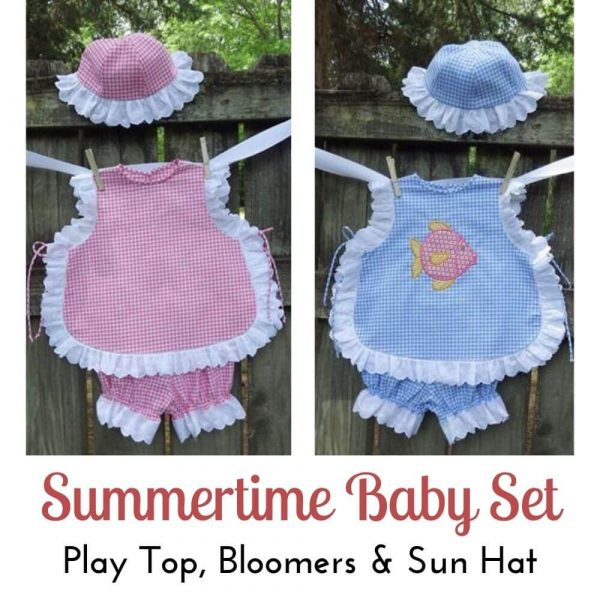Summertime Baby Set - Digital Pattern