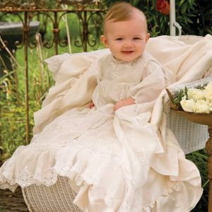 Vintage T-Yoke Christening Gown - Digital Pattern