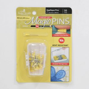 "Magic Pins Applique Pins 1"" 50 count by Taylor Seville"