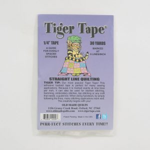 "Tiger Tape 1/4"" Tape 30 yards"