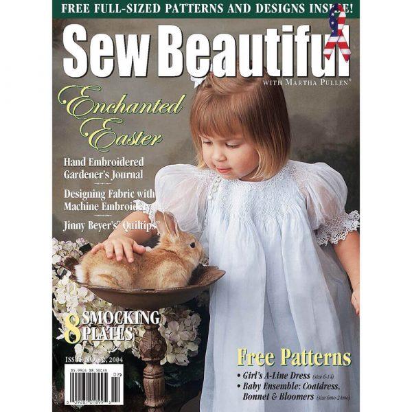Sew Beautiful January/February 2004: Digital Issue #92