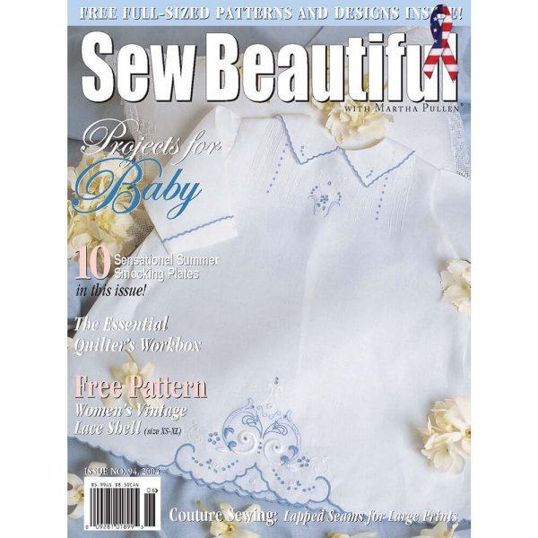 Sew Beautiful May/June 2004: Digital Issue #94