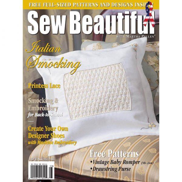 Sew Beautiful July/August 2004: Digital Issue #95
