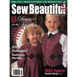 Sew Beautiful September/October 2004: Digital Issue #96