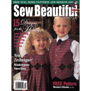 Sew Beautiful September/October 2004: Digital Issue #96