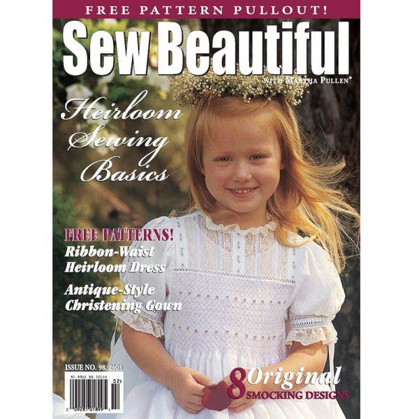 Sew Beautiful January/February 2005: Digital Issue #98