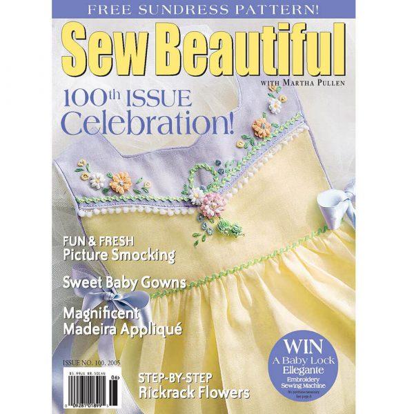 Sew Beautiful May/June 2005: Digital Issue #100