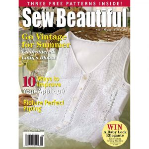 Sew Beautiful July/August 2005: Digital Issue #101