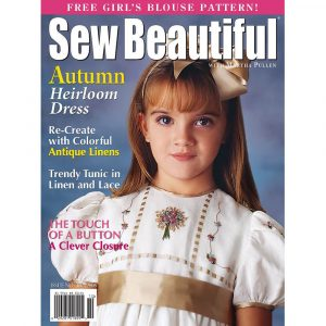 Sew Beautiful September/October 2005: Digital Issue #102