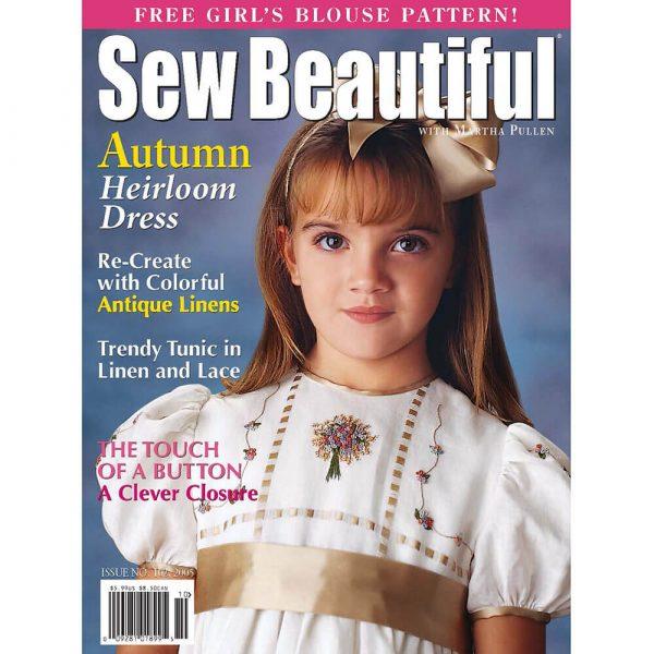 Sew Beautiful September/October 2005: Digital Issue #102