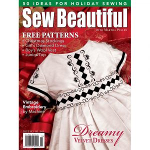 Sew Beautiful November/December 2005: Digital Issue #103