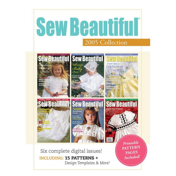 2005 Sew Beautiful Digital Collection