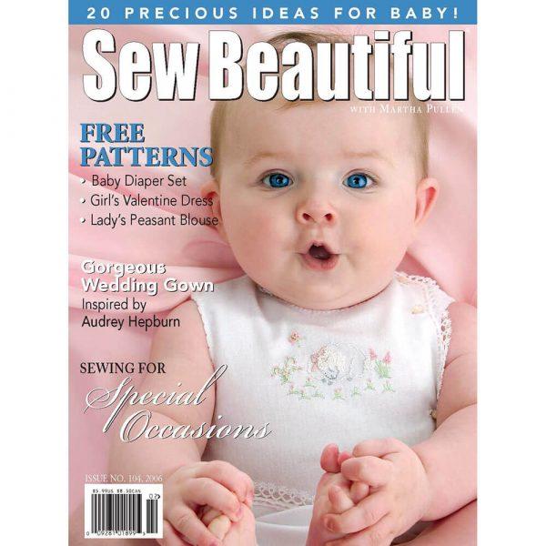 Sew Beautiful January/February 2006: Digital Issue #104