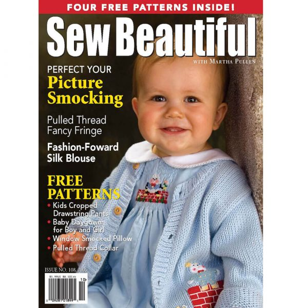 Sew Beautiful September/October 2006: Digital Issue #108
