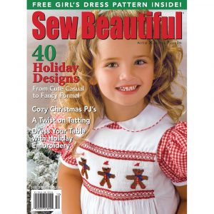 Sew Beautiful November/December 2006: Digital Issue #109