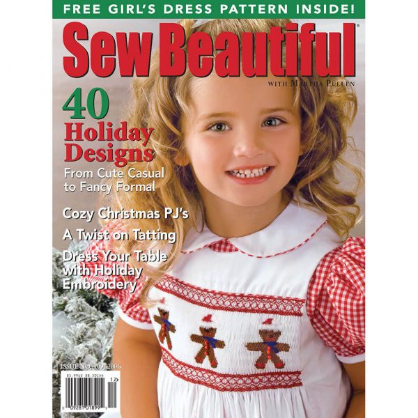 Sew Beautiful November/December 2006: Digital Issue #109
