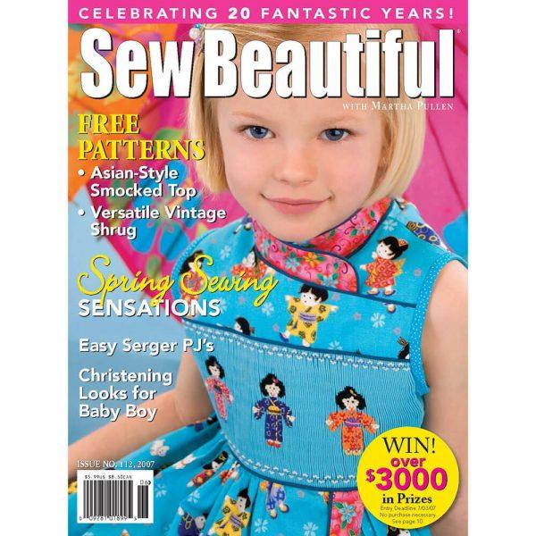 Sew Beautiful May/June 2007: Digital Issue #112